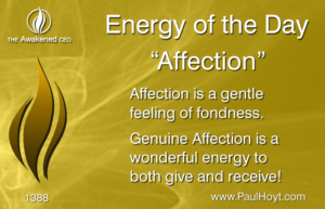 Paul Hoyt Energy of the Day - Affection 2017-09-08