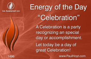 Paul Hoyt Energy of the Day - Celebration 2017-12-25