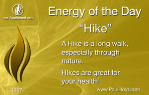 Paul Hoyt Energy of the Day - Hike 2017-12-26