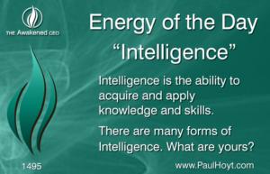 Paul Hoyt Energy of the Day - Intelligence 2017-12-24