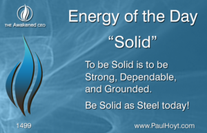 Paul Hoyt Energy of the Day - Solid 2017-12-28
